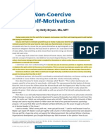 Non-Coercive Self-Motivation - The Article by Kelly Bryson