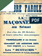 La Libre Parole - 19351203