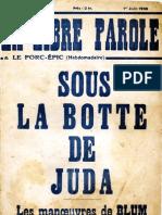 La Libre Parole - 19360611