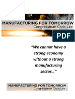 Manufacturing for Tomorrow