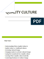 Quality Culture - Ch. 6