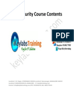 2.Keylabs Training SAP Security Course Content