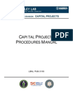 XXX Capital Projects Procedures Manual