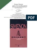 Simenon George - Maigret e La Vecchia Pazza