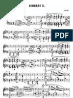Chopin Scherzo
