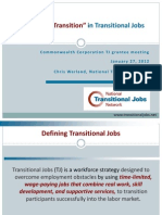 "Putting the ""Transition"" in Transitional Jobs"