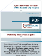 Transitional Jobs for Prison ReentryStrategies for the Kansas City Region