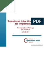 Transitional Jobs