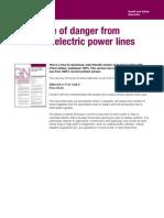 HSE GS6 Avoidance of Danger From Overhead Power Lines