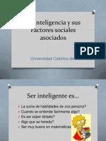 CONFERENCIA DE INTELIGENCIA