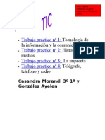 Morandi y Gonzalez 3°1°