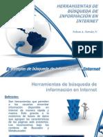 HERRAMIENTAS DE BÚSQUEDA DE INFORMACIÓN EN INTERNET