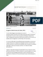 Libia 1911 - Europa 1914 (Parte IV)