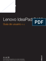 Lenovo IdeaPad S100 User Guide V1.0 (Spanish)