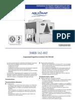 chiller 30RB162 - 802