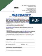 renew warranty