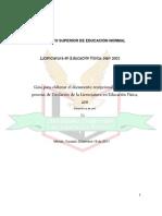 Instructivo de Titulacion Isen Fisica 2012