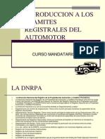 Introduccion a Los Tramites Registrales Del Automotor