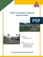 Pobreza Campesina Huamancaca Grande