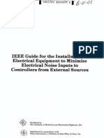 IEEE Std 518 Guide for the Installation of Electrical Equipment to Minimize Electrical Noise Inputs-ed 1982