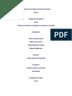 comercio electronico legislacion nacional en colombia