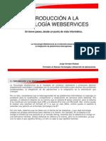 Introducción a la tecnología WebServices