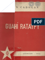 GUAHI RATAYPY - León Cadogan - 1948 - ASUNCION - PARAGUAY - PortalGuarani