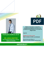 Charla Medicos