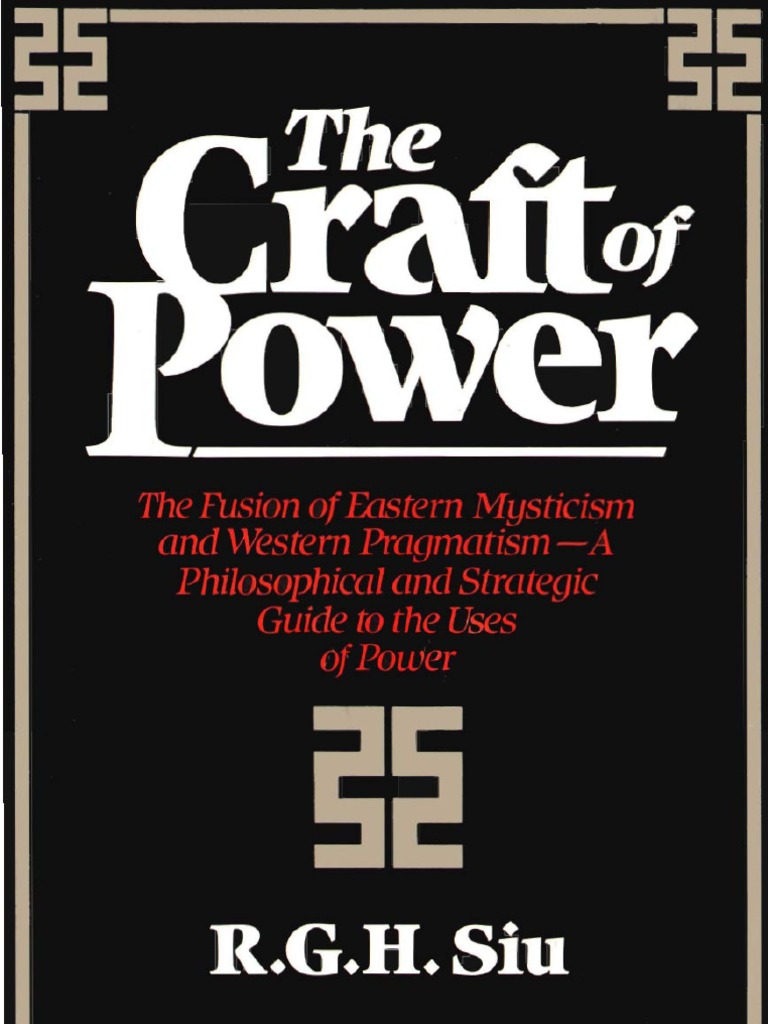 The craft of power the art of war negotiation fandeluxe Choice Image