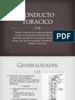 CONDUCTO TORACICO