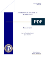 Florida State College at Jacksonville's 2012 financial Audit