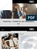Factoring - Vorteile für den Mittelstand
