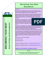 Becoming Your Best Newsletter - May 2012