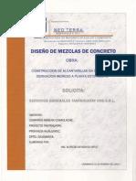 Concreto f'c=100 kg-cm2