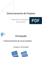 Gerenciamento de Projetos - Slides
