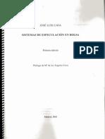 Jose Luis Cava - Sistemas de Especulacion en Bolsa