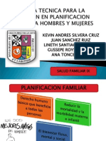 Planificacion Familiar Salud Ix