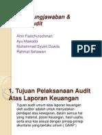 BAB 6 Pertanggungjawaban Dan Tujuan Audit