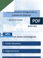 Vice ministerio Integración y Comercio Exterior de Guatemala - Agenda de trabajo - Forum Apparel Sourcing Show 2012