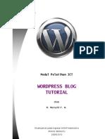Tutorial Blog Gratis Di Wordpress