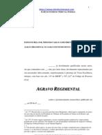Modelo de Agravo Regimental Ou Interno