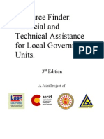 Resource Finder Financial and Technical Assistance for Local