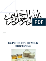 By-products of Milk Processing