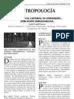 Isabel Gentil García. Competencia cultural en enfermería, población subsahariana