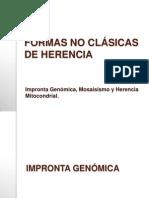 FORMAS NO CLÁSICAS DE HERENCIA