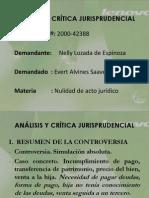 ANÁLISIS Y CRÍTICA JURISPRUDENCIAL 2