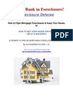 Beat the Bank in Foreclosure