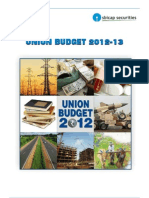 Union Budget FY12-13