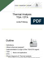 Lectrure Thermal Analysis