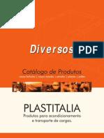Lixeiras Para Coleta Seletiva, Correntes Plasticas e Placas de Sinalizacao Plastitalia 26